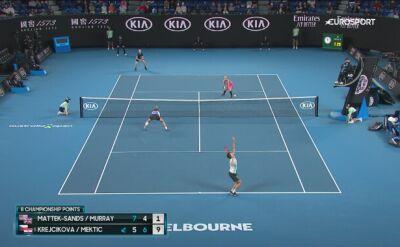 Krejcikova i Mektić mistrzami Australian Open