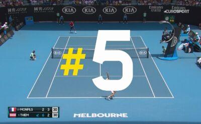 Najlepsze zagrania 8. dnia Australian Open