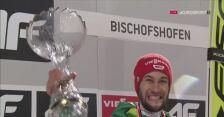 Ryoyu Kobayashi odebrał Złotego Orła za triumf w Turnieju Czterech Skoczni