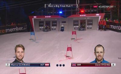 Marco Schwarz wygrał slalom równoległy w Oslo