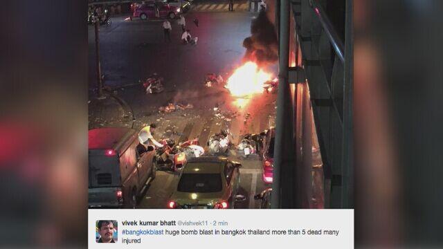 Wybuch w Bangkoku