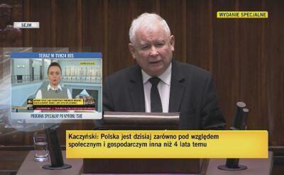 Kaczyński: wśród ideałów z całą pewnością na pierwszym miejscu jest wolność