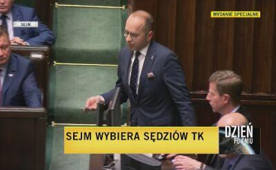 Sejm wybrał Stanisława Piotrowicza i Jakuba Stelina na stanowisko sędziego Trybunału Konstytucyjnego