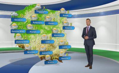 Prognoza pogody na piątek 22.11