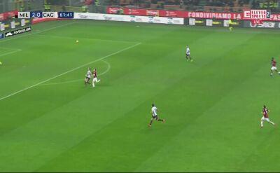 Gol Krzysztofa Piątka przeciwko Cagliari