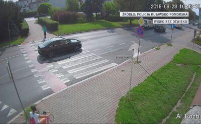 Kierowca potrącił 11-letnią rowerzystkę