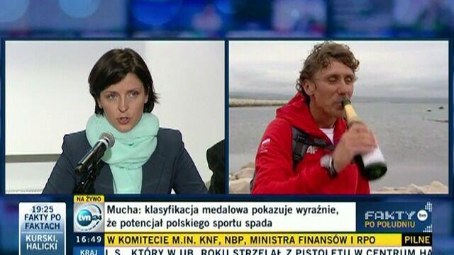 """""""Mistrzowski"""" skład minister Muchy"""