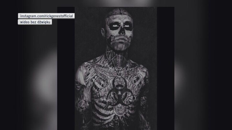 Zombie Boy Nie żyje Model Popełnił Samobójstwo