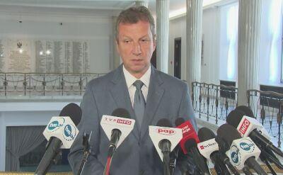 """PO zawiadamia prokuraturę w sprawie """"próby wymuszenia zeznań"""" od Gawłowskiego"""