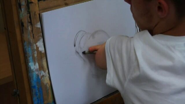 Niezwykłe rysunki bezrękiego artysty