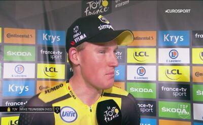 Niespodziewany zwycięzca Teunissen o swoim triumfie