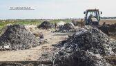 Osowa Sień: Hałdy śmieci na polu. Sprawę bada prokuratura