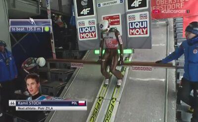 Kamil Stoch solidny w kwalifikacjach w Oberstdorfie