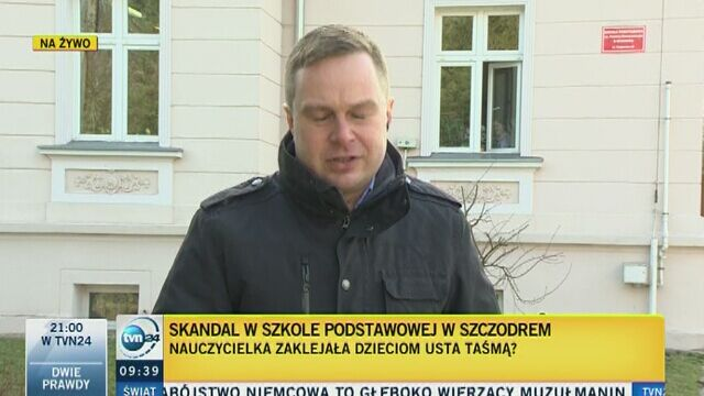 Skandal w szkole podstawowej w Szczodrem
