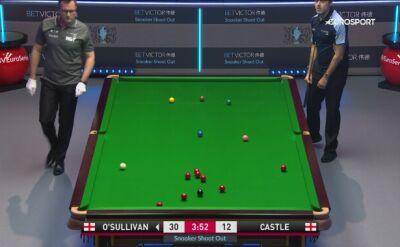 Ronnie O'Sullivan odpada z Shoot Out 2020 w Watfordzie