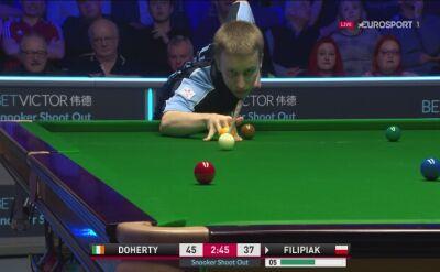 Filipiak - Doherty w shoot out w Watfordzie, ten błąd przesądził o porażce Polaka