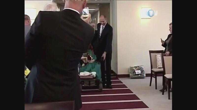 Ślub Natalii Pietrzak i Marka Kraussa