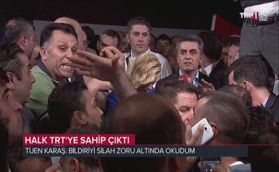 Państwowa telewizja TRT odbita