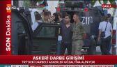 Zatrzymanie puczystów w Stambule