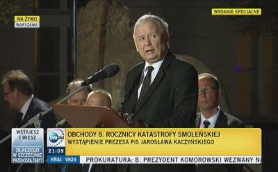 Prezes PiS: wszystko wskazuje, że pomnik Lecha Kaczyńskiego zostanie odsłonięty 10 listopada