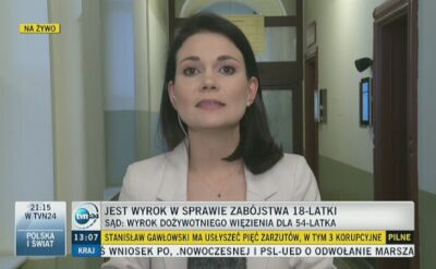Zdzisław W. tuż przed ogłoszeniem wyroku