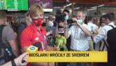 Srebrna medalistka olimpijska Katarzyna Zillmann po powrocie do Polski