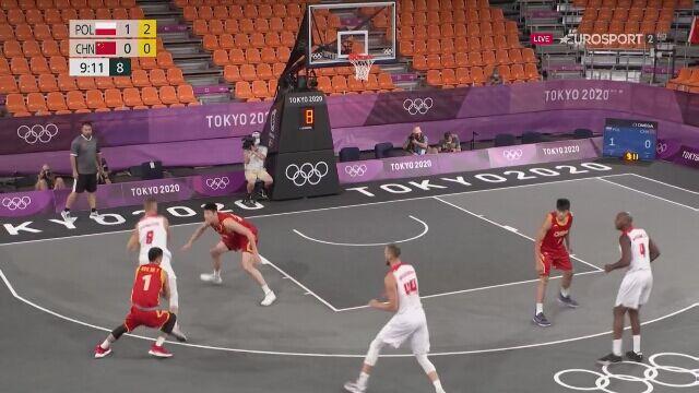 Tokio. Polska - Chiny: mocny początek polskich koszykarzy 3x3