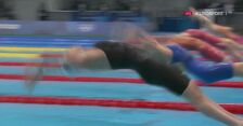 Tokio. Pływanie: półfinał 200 m st. zmiennym kobiet z udziałem Laury Bernat