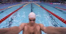 Tokio. Pływanie: finał 200 m st. grzbietowym z udziałem Radosława Kawęckiego