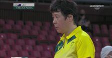 Tokio. Tenis stołowy: Li Qian przegrała z Australijką Lay