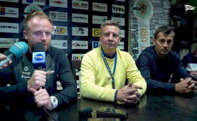 Piotr Stokowiec o skandalicznej sytuacji w meczu z Gryfem
