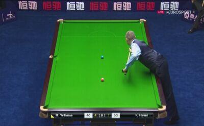 Williams awansował do drugiej rundy China Championship