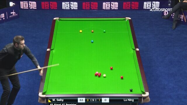 Break 129 Selby'ego na China Championship