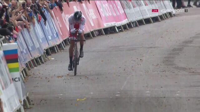 Maciej Bodnar 20. w jeździe na czas w mistrzostwach świata w kolarstwie