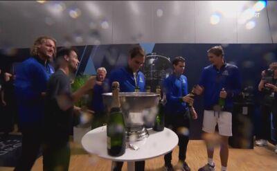 Europa skąpana w szampanie po triumfie w Pucharze Lavera