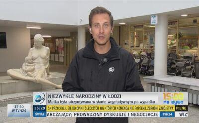 Niezwykłe narodziny w Łodzi