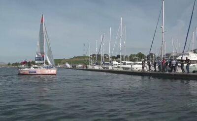 Szymon Kuczyński zawinął do portu w Plymouth
