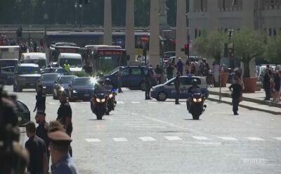 Macron z wizytą w Watykanie