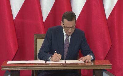 Premier odczytał wspólną deklarację Polski i Izraela