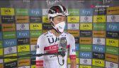 Tadej Pogacar po zwycięstwie na 9. etapie Tour de France