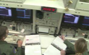 Odpalenie amerykańskiej rakiety międzykontynentalnej Minuteman III