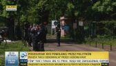 Protestujący zablokowali wjazd do budynku KRS