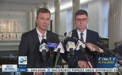 """PO: komisja weryfikacyjna """"dowodem na porażkę pracy prokuratury nadzorowanej przez Zbigniewa Ziobro"""""""