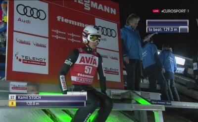 Drugi skok Kamila Stocha w niedzielnym konkursie w Predazzo