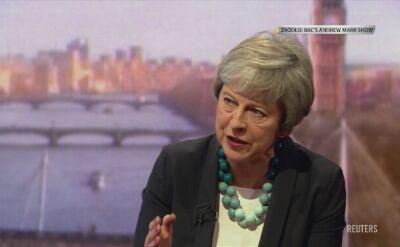 May: znajdziemy się na nieznanych wodach, jeśli parlament odrzuci porozumienie ws. brexitu