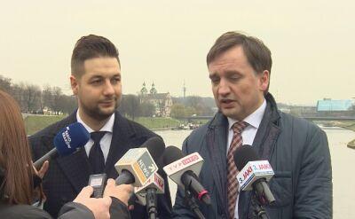 Ziobro: prokurator podejmie decyzje racjonalne, a nie forsowane przez polityków czy adwokatów