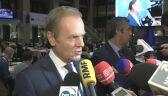 Tusk: jestem zadowolony, że na jakiś czas udało się odsunąć ten czarny scenariusz