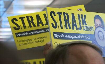 """ZNP gotowy do strajku, """"Solidarność"""" chce go uniknąć. """"Umów pod stołem nie ma"""""""