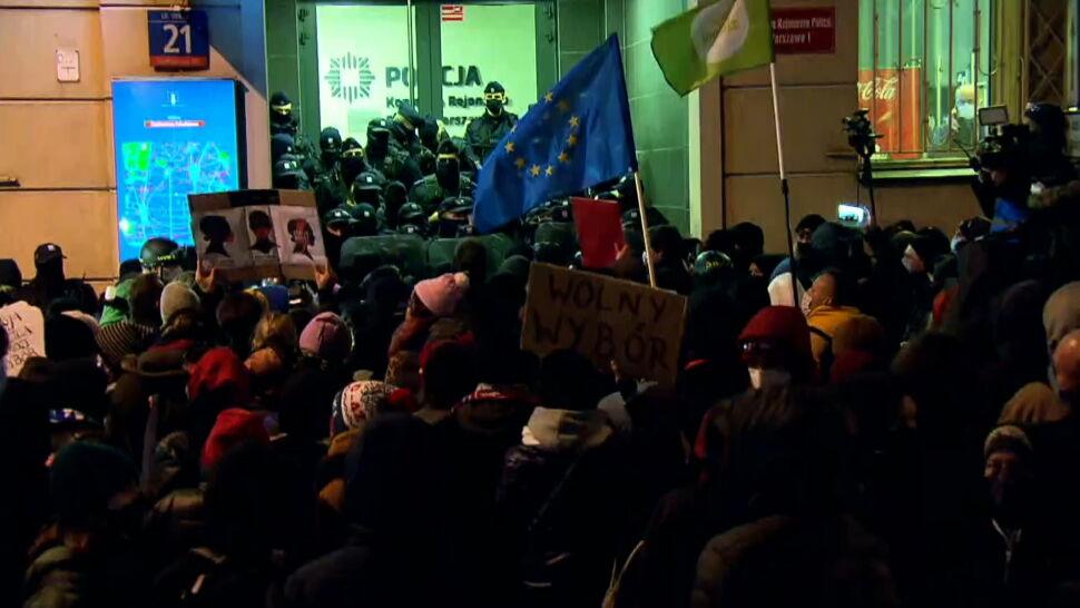 Fotoreporterka zatrzymana podczas protestu przed MEN. Jest reakcja RPO