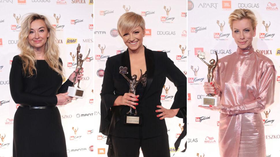 Anita Werner, Martyna Wojciechowska i Dorota Szelągowska nagrodzone Telekamerami